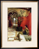 An Oleander, 1882 Framed Giclee Print by Sir Lawrence Alma-Tadema