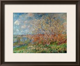 Spring, 1880-82 Framed Giclee Print by Claude Monet