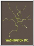 Washington D.C. Posters by  Line Posters