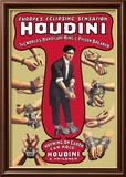 Houdini: The World&#39;s Handcuff King and Prison Breaker Affiches