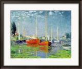 Argenteuil, circa 1872-5 Gerahmter Giclée-Druck von Claude Monet