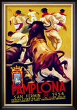 Pamplona, San Fermin Posters by Charles Dana Gibson
