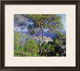 Bordighera, 1884 Framed Giclee Print by Claude Monet