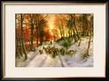 Glowed with Tints of Evening Hours Framed Giclee Print by Joseph Farquharson