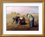 The Gleaners, 1857 Gerahmter Giclée-Druck von Jean-François Millet