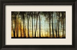Golden Forest Framed Giclee Print by Carolyn Reynolds