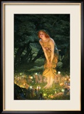 Midsummer Eve Framed Giclee Print by Edward Robert Hughes