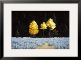 Three Sisters Framed Giclee Print by Sallie Smith