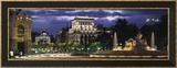 Zicht op Madrid, Spanje Ingelijste fotodruk van Panoramic Images,