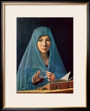 The Annunciation, 1474-75 Framed Giclee Print by  Antonello da Messina