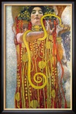 Hygeia Lminas por Gustav Klimt