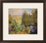 A Corner of the Garden at Montgeron, 1876-7 Framed Giclee Print by Claude Monet
