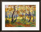 Edge of the Forest Gerahmter Gicl&#233;e-Druck von Paul Ranson