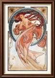 Tanz Kunstdrucke von Alphonse Mucha