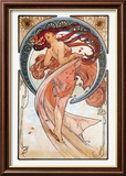 Baile Lminas por Alphonse Mucha