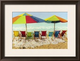 Drink Deep, Begin Another Carefree Day Framed Giclee Print by Robin Renee Hix