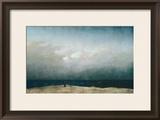 Monk by Sea, 1809 Framed Giclee Print by Caspar David Friedrich