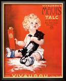 Mavis Talc Cats Talcum Powder, USA, 1920 Lámina