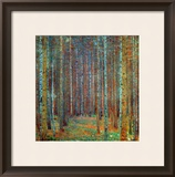 Tannenwald (Pine Forest), 1902 Framed Giclee Print by Gustav Klimt