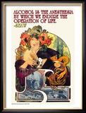 Bieres de le Meuse Kunstdruck von Alphonse Mucha
