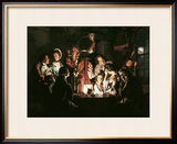 An Experiment on a Bird in the Air Pump, 1768 Framed Giclee Print by Joseph Wright of Derby