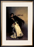 "The Spanish Dancer, Study for ""El Jaleo,"" 1882 Framed Giclee Print by John Singer Sargent"