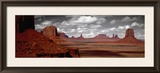 Mountains, West Coast, Monument Valley, Arizona, USA Framed Photographic Print by  Panoramic Images