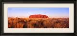 Ayers Rock, Uluru-Kata Tjuta National Park, Australien Gerahmter Fotografie-Druck von  Panoramic Images