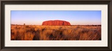 Ayers Rock, Uluru-Kata Tjuta National Park, Australia Framed Photographic Print by  Panoramic Images