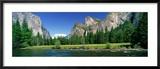 Bridal Veil Falls, Yosemite National Park, California, USA Gerahmter Fotografie-Druck von  Panoramic Images