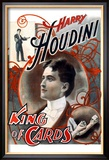 Harry Houdini: King of Cards Kunstdrucke