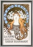 Sarah Bernhardt Print by Alphonse Mucha