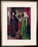 Portrait of Giovanni Arnolfini and his Wife, c.1434 Framed Giclee Print by Jan van Eyck