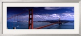 Bridge Over a River, Golden Gate Bridge, San Francisco, California, USA Framed Photographic Print by Panoramic Images