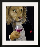The Wine King Framed Giclee Print by Will Bullas