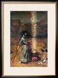 The Magic Circle Framed Giclee Print by Sir Lawrence Alma-Tadema