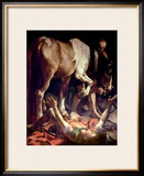 The Conversion of St. Paul, 1601 Framed Giclee Print by  Caravaggio