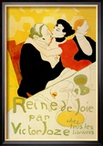 Reine de Joie Posters by Henri de Toulouse-Lautrec