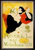Reine de Joie Art by Henri de Toulouse-Lautrec
