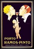 Porto Ramos-Pinto Kunstdruck von René Vincent