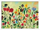 Wild Field Gerahmter Gicl&#233;e-Druck von Kim Parker