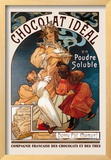 Chocolat Ideal Framed Giclee Print by Alphonse Mucha