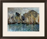 View of Le Havre, 1873 Framed Giclee Print by Claude Monet