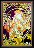 Ivy Posters by Alphonse Mucha