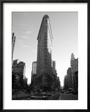 Flat Iron Building, New York City Gerahmter Fotografie-Druck von Keith Levit