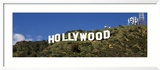 Hollywood Sign at Hollywood Hills, Los Angeles, California, USA Gerahmter Fotografie-Druck von  Panoramic Images