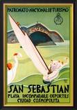 San Sebastian Kunstdrucke