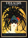 Theatre Magazine, Maske, USA, 1920 Poster