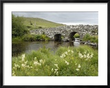 Quiet Man Bridge, Near Maam Cross, Connemara, County Galway, Connacht, Republic of Ireland Gerahmter Fotografie-Druck von Gary Cook