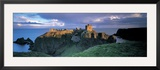 Castle, Stonehaven, Grampian, Aberdeen, Scotland Framed Photographic Print by Panoramic Images